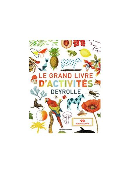 Le grand livre d'activité Deyrolle
