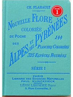 Atlas de poche de la flore des Alpes et Pyrénées Tome 1