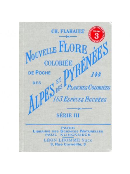 Atlas de poche de la flore des Alpes et Pyrénées Serie 3