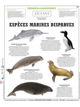 Espèces marines disparues